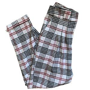 ASOS Plaid Houndstooth Tapered Pants Size 4